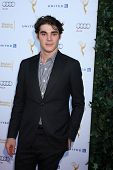 LOS ANGELES - AUG 23:  RJ Mitte at the Television Academy's Perfomers Nominee Reception at Pacific D