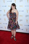 LOS ANGELES - AUG 23:  Jamie Brewer at the Television Academy's Perfomers Nominee Reception at Pacific Design Center on August 23, 2014 in West Hollywood, CA