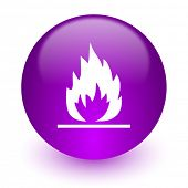 flame internet icon