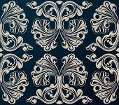 Seamless vector background. Medieval Ornament vintage