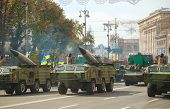 Anti-aircraft Rocket Launchers In Kyiv, Ukraine