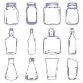 Different Empty Containers