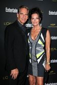 LOS ANGELES - AUG 23:  Scott Bakula, Chelsea Field at the 2014 Entertainment Weekly Pre-Emmy Party a