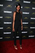 LOS ANGELES - AUG 23:  Xosha Roquemore at the 2014 Entertainment Weekly Pre-Emmy Party at Fig & Oliv