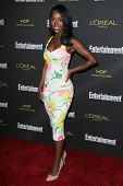 LOS ANGELES - AUG 23:  Aja Naomi King at the 2014 Entertainment Weekly Pre-Emmy Party at Fig & Olive on August 23, 2014 in West Hollywood, CA