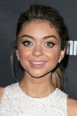 LOS ANGELES - AUG 23:  Sarah Hyland at the 2014 Entertainment Weekly Pre-Emmy Party at Fig & Olive o