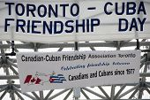 Friendship Day Between Toronto And Cuba