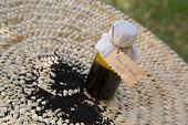 A Bottle Of Black Seed Oil