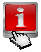 Information Button with cursor