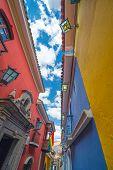 Colorful Jaen Street In La Paz