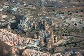 pic of goreme  - Sunrise in Goreme National Park   Cappadocia - JPG