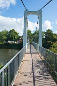 Suspended Footbridge