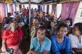 People On The Bus Waiting For Departure. Sodo Wolaita. Ethiopia.