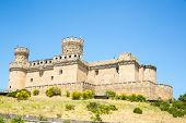Castle of Mendoza near Madrid Spain