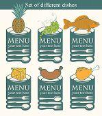 Set dishes