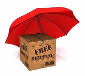 Package Free Shipping And Umbrella