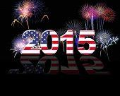 Usa, New Year 2015.