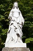 Statue Of Valentina Visconti In Paris