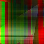 art abstract geometric textured colorful background with square in red and green colors