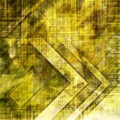 art abstract geometric textured colorful background in gold, green and brown colors