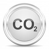 carbon dioxide internet icon