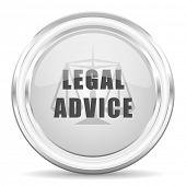 legal advice internet icon