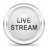 live stream internet icon