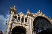 Building Of Zaragoza Market