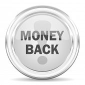 money back internet icon