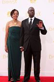 LOS ANGELES - AUG 25:  Andre Braugher at the 2014 Primetime Emmy Awards - Arrivals at Nokia Theater