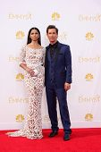 LOS ANGELES - AUG 25:  Camila Alves McConaughey, Matthew McConaughey at the 2014 Primetime Emmy Awards - Arrivals at Nokia Theater at LA Live on August 25, 2014 in Los Angeles, CA