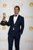 LOS ANGELES - AUG 25:  Ty Burrell at the 2014 Primetime Emmy Awards - Press Room at Nokia Theater at LA Live on August 25, 2014 in Los Angeles, CA