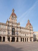City Council Of La Coruna, Galicia, Spain