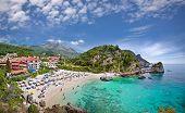 Piso Kryoneri beach in Parga town of Syvota area, Greece.