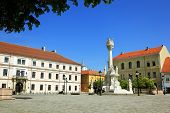 European square in OSijek, Croatia