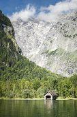 The beautiful Koenigssee in Bavaria Germany