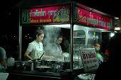 Mobile Food Shop at Night Market