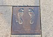 Footprint Of Rajendra Pachauri In Stavanger, Norway