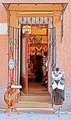 Shop With Old Traditional Clothes In Lviv, Ukraine