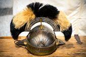 Old Roman Helmet