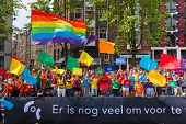 Coc Nederland Boat ?? Amsterdam Canal Parade 2014