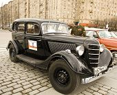 Rally Of Classical Cars, Moscow