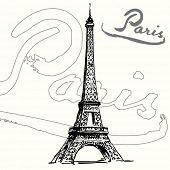 France, Paris - Eiffel tower