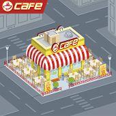Facade coffee shop