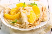 image of crepes  - Crepes Suzette  - JPG