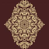Orient Vector Pattern. Abstract Ornament
