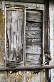 Old Abandoned Wooden Door