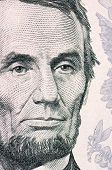 The Face Of Lincoln The Dollar Bill Macro