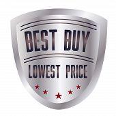 Best Buy silver sales label