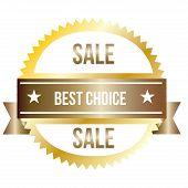Best Choice sales label